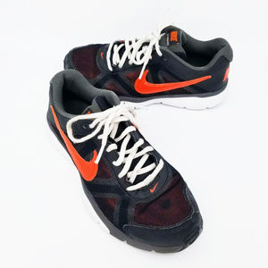 Nike Kids Dual Fusion TR 3 Black Orange Size 6y